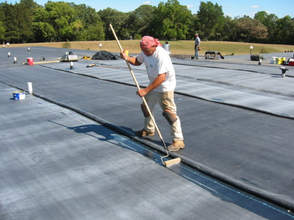 What is an EPDM roof membrane?