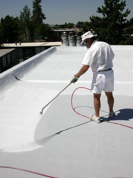 What is a fluid applied roofing membrane?